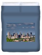 Nashville Skyline 1 Duvet Cover