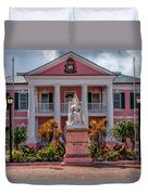 Nassau Senate Building Duvet Cover