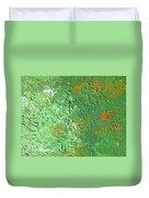 Nasturtium Duvet Cover