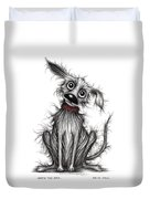 Nasty The Dog Duvet Cover