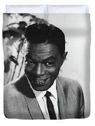 Nat King Cole Duvet Cover