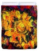 Natalie Holland Sunflowers Duvet Cover