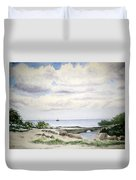 Natalie's Beach Duvet Cover