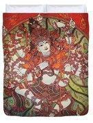 Nataraja Mural Duvet Cover