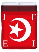 Nation Of Islam Flag Duvet Cover