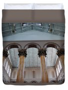 National Columns Duvet Cover