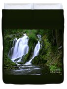 National Creek Falls 02 Duvet Cover