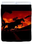 National Hunt, Ireland Duvet Cover