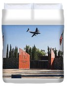 National Medal Of Honor Memorial Fly Over Duvet Cover