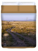 National Old Trails South Of Santa Fe Duvet Cover