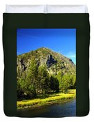 National Park Mountain Duvet Cover