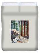 National Park Sequoia Duvet Cover