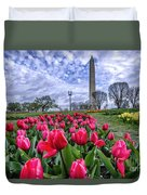 National Park Service Floral Library Duvet Cover