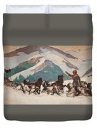 National Park Service - North Country Duvet Cover