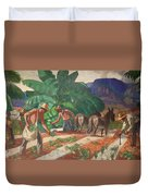 National Park Service - Tropical Country Duvet Cover