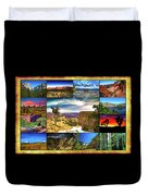 National Parks Of The West Duvet Cover