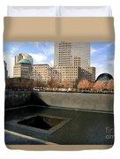 National September 11 Memorial New York City Duvet Cover