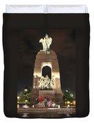National War Memorial At Night Duvet Cover
