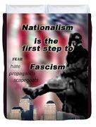 Nationalism Duvet Cover