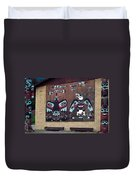 Native Alaskan Mural Duvet Cover