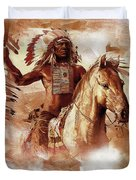 Native American 093201 Duvet Cover