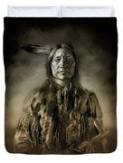 Native American Chief-scabby Bull 2 Duvet Cover