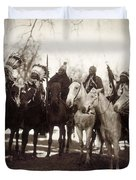 Native American Chiefs Duvet Cover