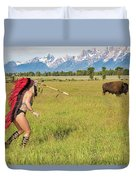 Native American Darcy 3 Duvet Cover