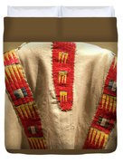 Native American Great Plains Indian Clothing Artwork 09 Duvet Cover