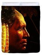 Potawatomi Chief Duvet Cover