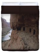 Native American Ruins Of Nankoweap Duvet Cover