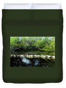 Native Floridian Duvet Cover