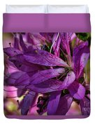 Native Long Petals Duvet Cover