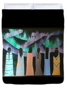 Native Northern Lights Moments Duvet Cover