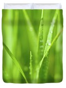 Native Prairie Grasses Duvet Cover