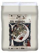 Nativity/croatian Duvet Cover