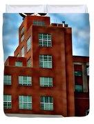 Natty Boh Tower  Duvet Cover