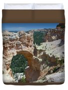 Natural Arch Bryce Canyon - Utah Duvet Cover