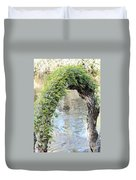 Natural Archway Over Hillsborough River Duvet Cover