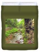 Natural Bridge Valley Duvet Cover
