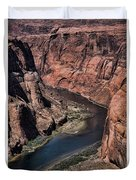 Natural Colorado River Page Arizona  Duvet Cover