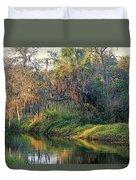 Natural Florida Landscape Duvet Cover
