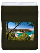 Natural Framing. El Chorro. Spain Duvet Cover