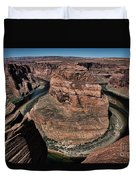 Natural Horseshoe Bend Arizona  Duvet Cover