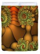 Natural Jewels Duvet Cover