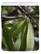 Natural Leaf Duvet Cover