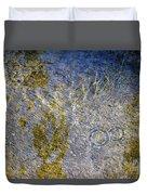 Natural Ripple Art Duvet Cover