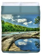 Natural Swimming Pool Duvet Cover