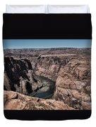 Natural View Colorado River Page Arizona  Duvet Cover