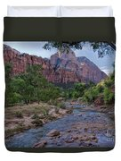 Morning Hike Duvet Cover